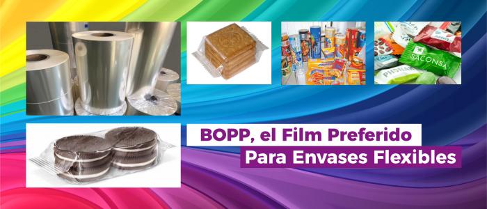 BOPP el film preferido para Envases Flexibles